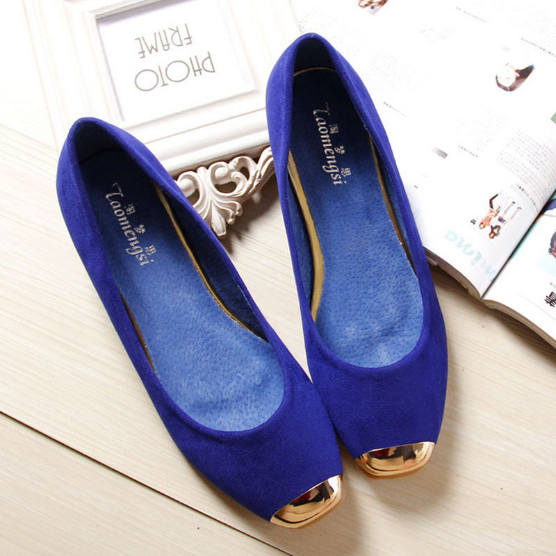 2014 basic Flats for Women fashion dress shoes woman flat heels womens shoe 35-43(China (Mainland))