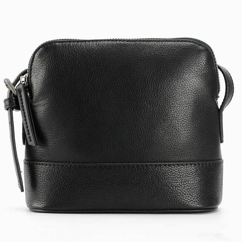 Women Vintage Style Genuine Leather Shoulder Crossbody Bag ...