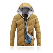 2015Fashion winter coat men hoody jacket new brand thicken warm male jacket winter windproof jacket hoodies