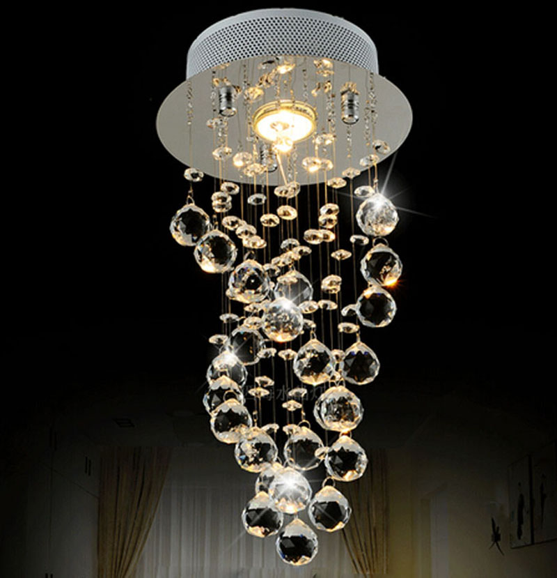 Beste Prijs Moderne Luxe LED Kristallen Kroonluchter Slaapkamer Gang ...
