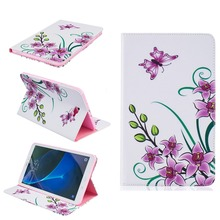 Tablet Case for fundas Samsung Galaxy Tab A 10.1 2016 T580 Cover for Samsung Galaxy Tab A 10.1 T580 T585 Case Cover with Stand(China (Mainland))