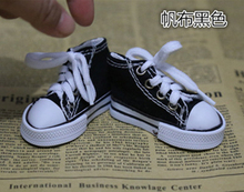 Assorted Colors 7.5cm Canvas Shoes For BJD Doll Toy,1/4 Mini Doll Shoes for 16 Inch Sharon doll Boots(China (Mainland))