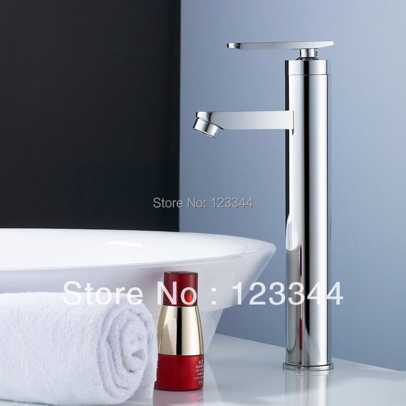 hot and cold water tap bathroom mixer shower single handle faucet tall basin faucet(China (Mainland))