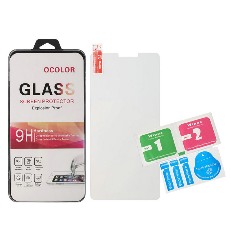 Ultra-thin HD Tempered Glass Film Screen Protector For UMI Super 4G LTE MTK6755 Octa Core Android 6.0 5.5 Inch Cell Phone(China (Mainland))