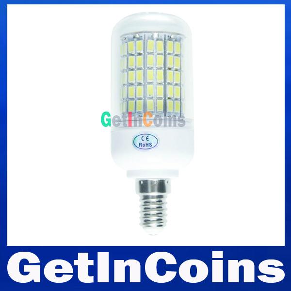 3W 9W 12W 15W 20W 25W 35W SMD 5730 E14 led bulb220V/110V Warm White/ white 5730SMD Led lamp Corn Light Bulb free shipping(China (Mainland))