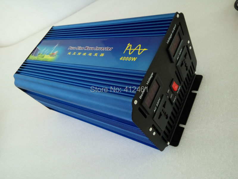 4000W Ture Pure Sine Wave Power Inverter and digital display (QW-P4000)(China (Mainland))