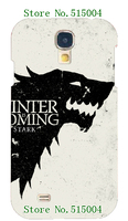 hot! new design game of thrones case hard back cover for samsung Galaxy s4 i9500 1pc+ free shipping