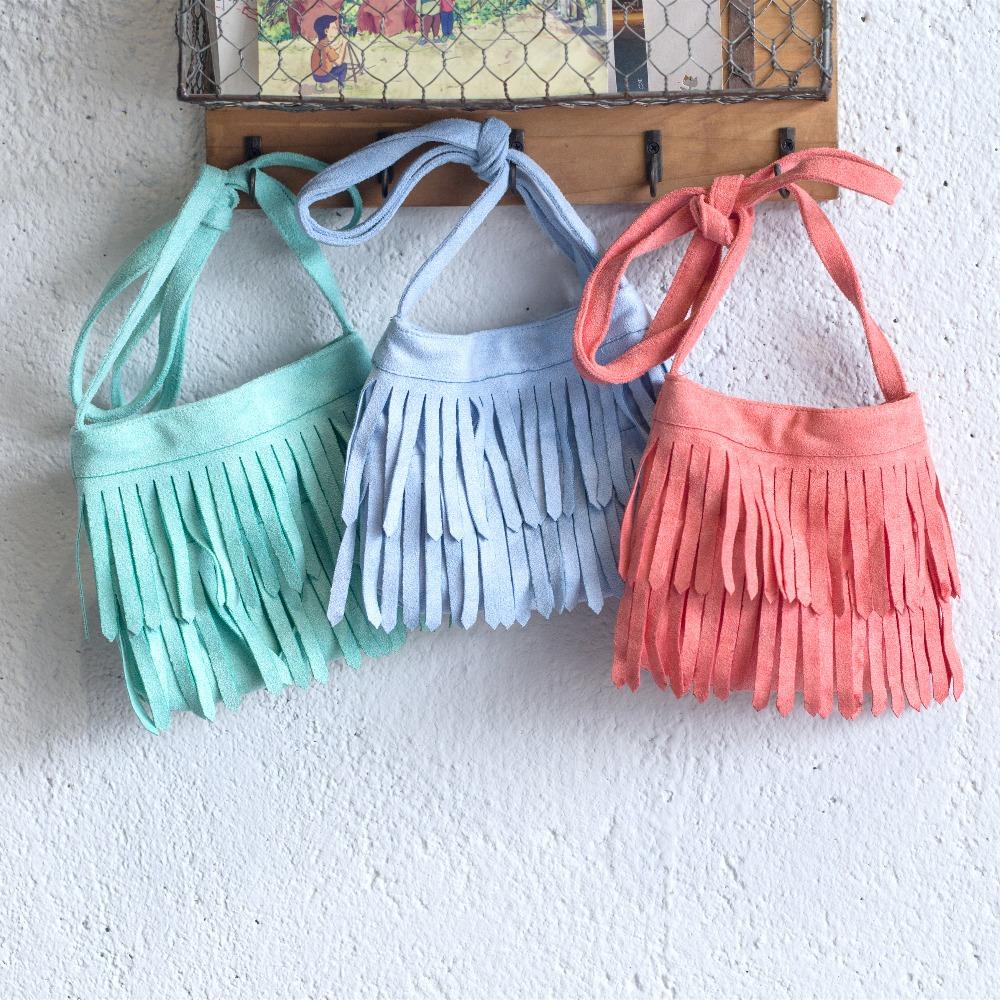 2016 new design children handbag fashion girls tassel bag kids messenger bag blue camel double tassel boys cross body bag(China (Mainland))