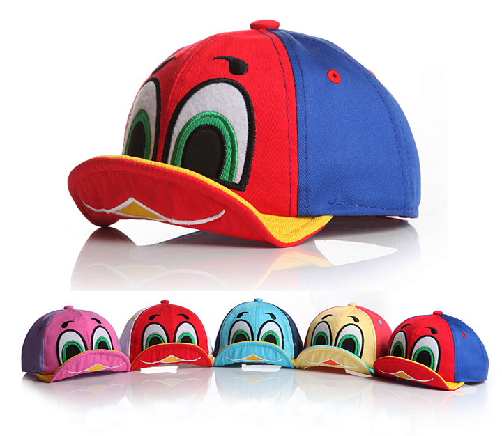 2015 New Cute Duck Design Baby Hat Baby Cap For Boy Girl Sun Hat Kid Hat All For Child Clothing and Accessories(China (Mainland))