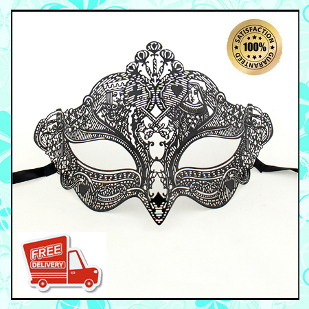 1 Piece womnn Mask Venetian Metal Mask 60040 Free Shipping Masquerade Mask Hot Sell Half Face women Mask(China (Mainland))