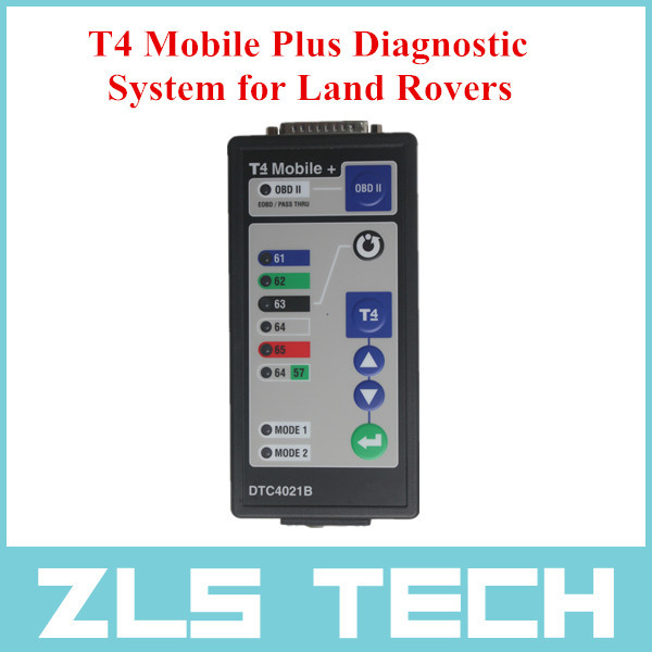 2015 Best Quality T4 Mobile Plus Diagnostic System for Land Rovers Auto Diagnostic Tool with DHL Free Shipping(China (Mainland))
