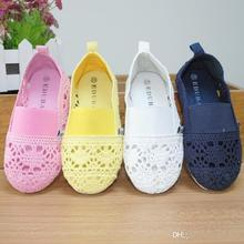 Cute Baby Kids Lace Shoes Hollow Out Sweet Baby Kids Multi Color Summer Fall Fashion Shoes(China (Mainland))
