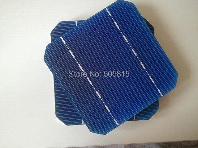 Free Shipping ,40 pcs Mono Solar Cell 5x5 2.65W.Grade A ,DIY Solar panel,monocrystalline solar cells+Enough tabbing wire &busbar(China (Mainland))
