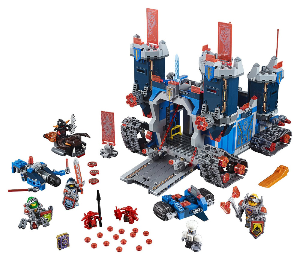 LEPIN Nexo Knights Fortrex Combination Marvel Building Blocks Kits Toys Minifigures Compatible Legoe Nexus  -  Cy Super Toys store