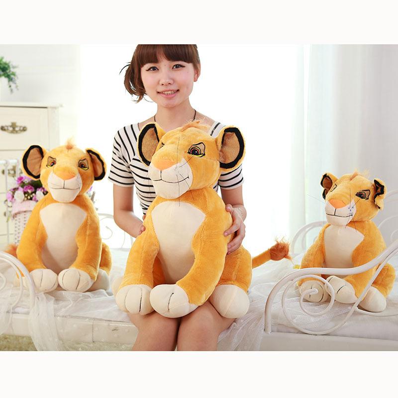 Hot Sale 50cm Lion King Cartoon Stuffed Simba Lion Toy Story Plush Baby Toy Doll Simba Lion Stuffed Animal Gifts(China (Mainland))