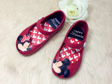children beach Sandals Mickey Minnie kids toddler baby little girls crystal jelly shoes footwear candy smell style mini melissa