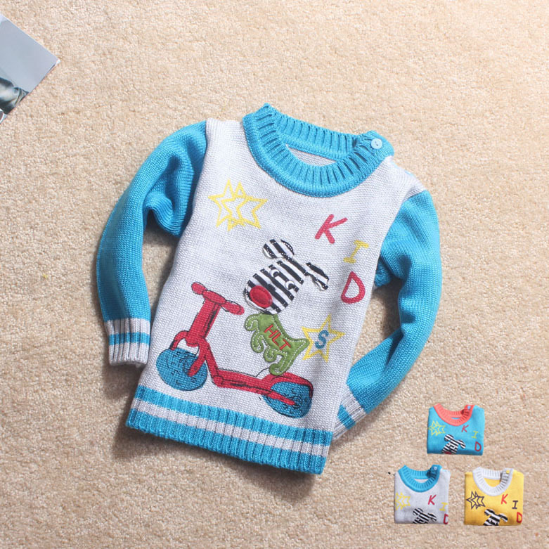 Knitting Patterns For Toddler Boy Sweaters : 3pcs/lot Knitting Patterns For Kids Sweaters Free Shipping ...