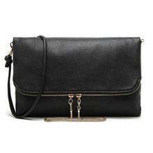 Casual women messenger bags leather handbag day clutch bags for women cross body shoulder bag women purse bolsas black(China (Mainland))