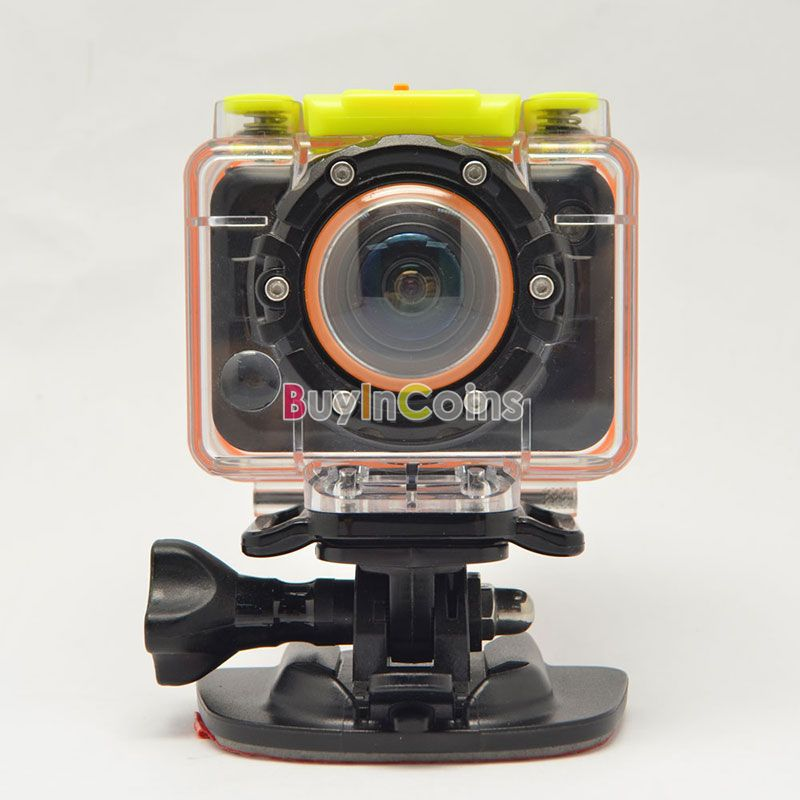 T10W HD 1080P Waterproof Sport Action Camera Diving DV Camcorder Remote Watch #63916(China (Mainland))