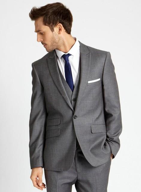 kundenspezifische neue hei e hochzeit anzug silber grau. Black Bedroom Furniture Sets. Home Design Ideas
