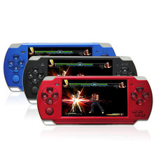 32 Bit 4.3 Inch Handheld Game Player Game Console 8G MP5 Game Player 3.0MP Camera 100 Kinds Games 1000mAh Battery(China (Mainland))
