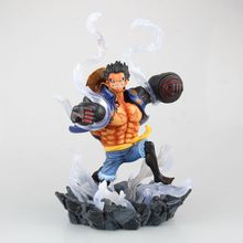 Buy One Piece Action Figures Luffy Gear 4 260mm One Piece Anime Collectable Model Toys Monkey D Luffy Japanese Anime Figure for $38.00 in AliExpress store