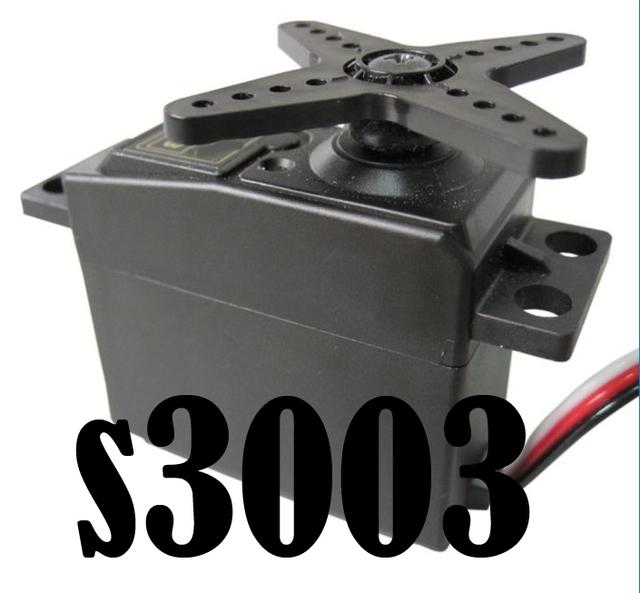 20pcs/lot 38g SERVO S3003 Standard Servo  for HPI TAMIYA Kyosho Duratrax GS  XTM OFNA Racing fast