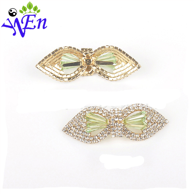 white decorative shoe clips for decoration high-heel rhinestone accessories shoe buckle N722(China (Mainland))