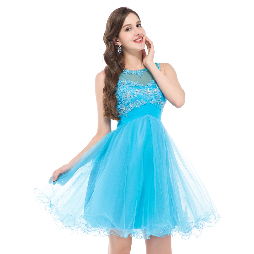 Short Puffy Party Dresses - Prom Dresses 2018