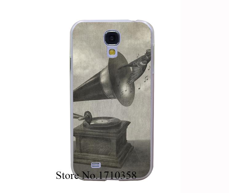Bird song Print Transprent Hard Case Cover for Samsung Galaxy S6 & Edge S5 & Mini S3 & Mini S4 & Mini(China (Mainland))