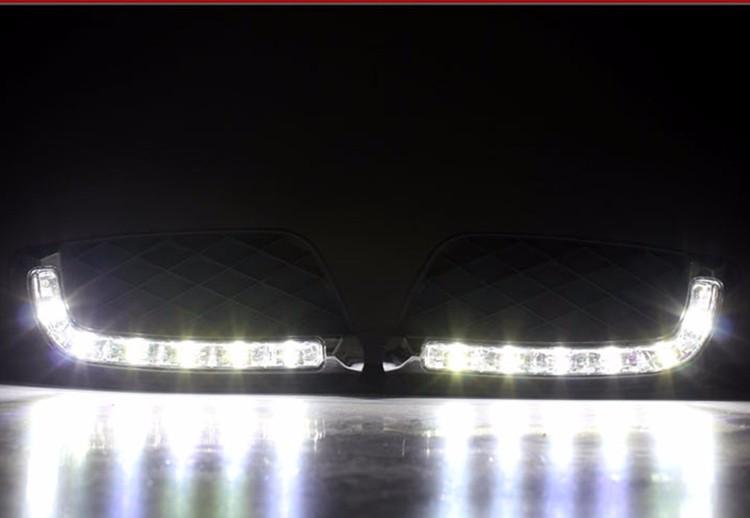 Купить Для Mercedes-Benz Smart Fortwo 2008-2011 Супер BrighWaterproof ABS Автомобилей DRL 12 В СВЕТОДИОДНЫМИ Фарами Дневного Света дневной свет Лучшее Качество