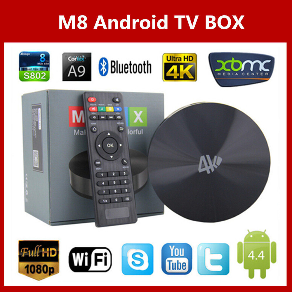 Телеприставка VSMART M8 Amlogic S802 2 + 8 2GHz 4K Android OTA HDMI Bluetooth 4.0 телеприставка vsmart m8 amlogic s802 2 8 2ghz 4k android ota hdmi bluetooth 4 0