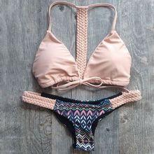 Hot Swimwear Bandage Bikini 2016 Sexy Beach Swimwear Women Swimsuit Bathing Suit Brazilian Bikini Set maillot de bain Biquini