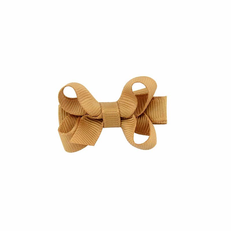 1PCS Hair Accessories Girls Hair Clips Small Ribbon Bow Hairpins Barrettes Headwear Boutique Wholesale Best Friend Holiday Gift