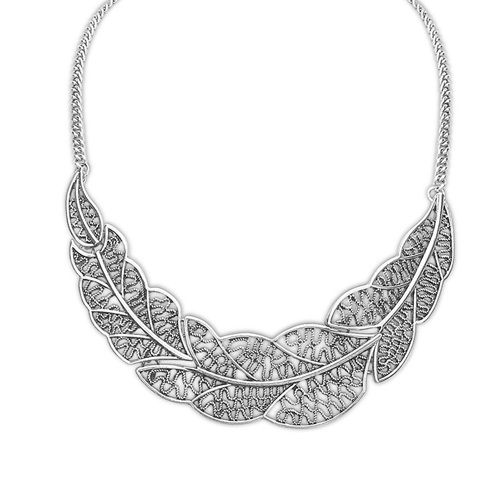 Hot Collier Femme Women Statement Collar Chain Zinc Alloy Pendant Necklace jewelry N1193(China (Mainland))