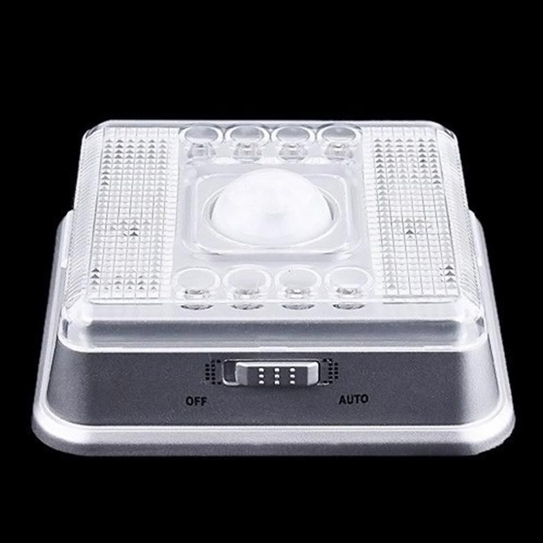 8 LED Night Light Lamp PIR Auto Sensor Motion Detector  # L0142505(China (Mainland))