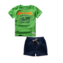 Buy 2~6T High Cotton Summer Baby Boy Kids Toddler Children Clothes Sport Suits 2pcs T Shirts+Shorts Baby Boys Clothing Sets for $14.51 in AliExpress store