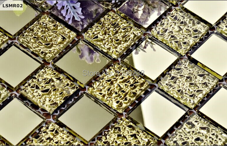 LSMR002,Gold glass mosaic tile,3d wall tiles,Purple glass mosaic tile backsplash,Wall panel deco materials.