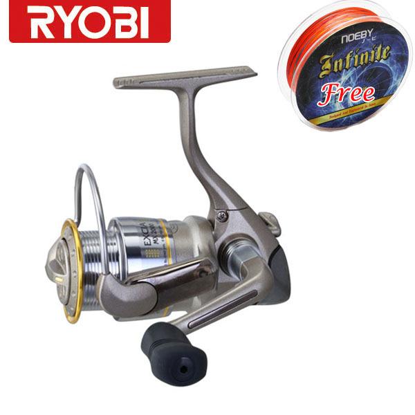 Ryobi excia mx 2000 spinning reel shallow spool reel hot for Ryobi fishing reel
