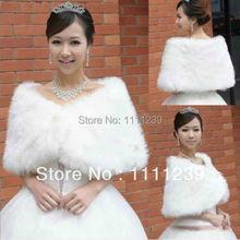 2015 heißer Verkauf Bild Farbe Sleeveless Hohe Quanlity Pelz Boleros Hochzeit Jacke Bridal Jacken Kostenloser Versand DS0229(China (Mainland))