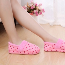 Women Men Anti Slip Shoes Winter Warm Soft Cotton Antiskid Indoor Home Slippers