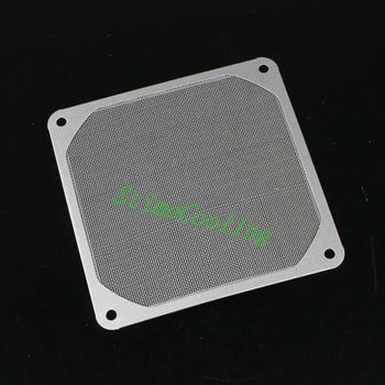 20pcs set Clean Stainless Metal Computer 8CM 80MM Dustproof Dust Filter Fan Strainer GDT-S8CM-20