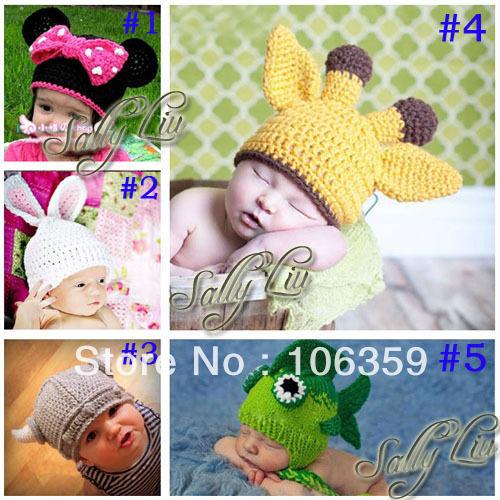 Compra patrón de sombrero de la jirafa online al por mayor de ...