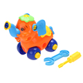 DIY Blocks Disassembly elephant Car Toys Design Educational toys Children Gifts