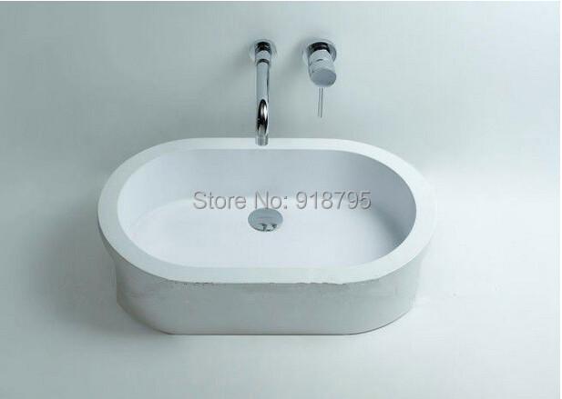free shipping solid surface vessel sinks wash basin bathroom art basin RS3802<br><br>Aliexpress