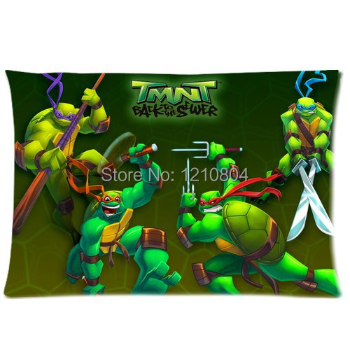Ninja Turtles Pillow cases for beds 20x30 (two sides)-in Pillow Case ...