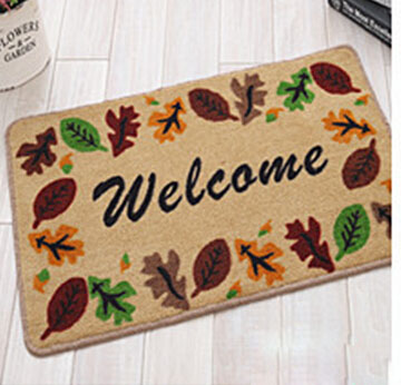 Supply from stock door mat and mat for toilet with exquisite pattern design which is branded new product(China (Mainland))