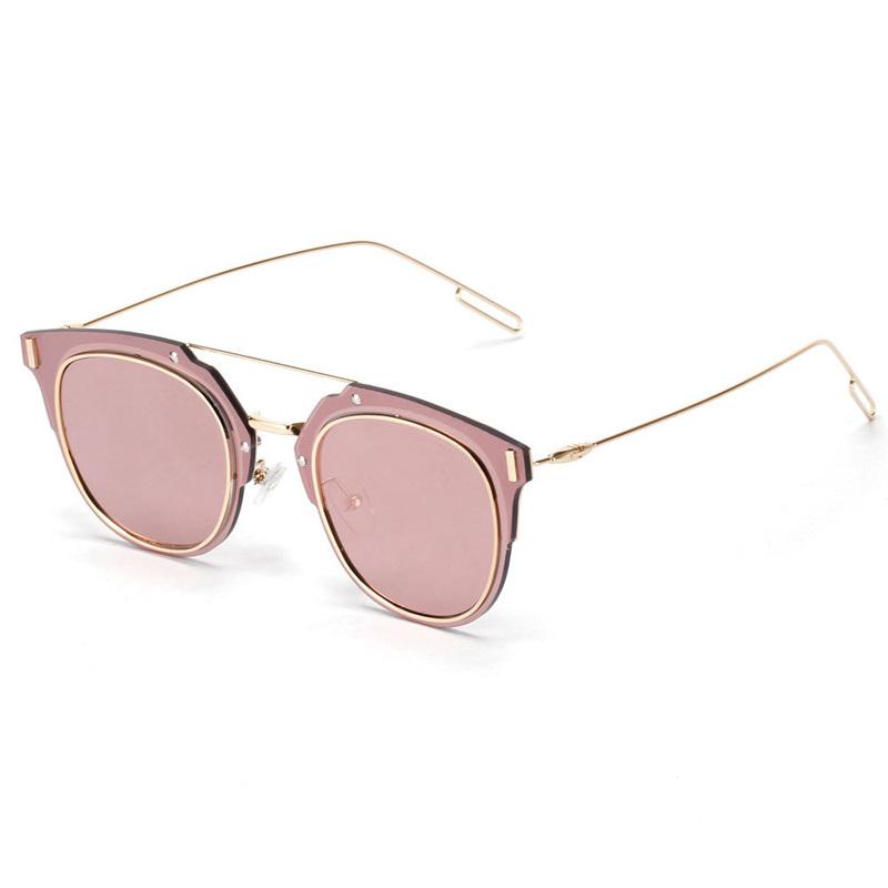 2015 luxury sunglasses fashion retro metal