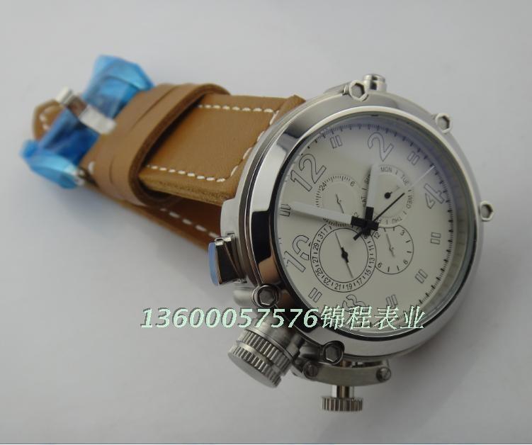 50 мм большие часы PARNIS Автоматические Self-ветер движение кожаный ремешок Высокое качество МУЖЧИНЫ часы оптом