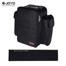 JOYO PC-1 Portable Soft Guitar Effect Pedal Board Carpet Pedalboard with Backpack Carrying Bag(China (Mainland))